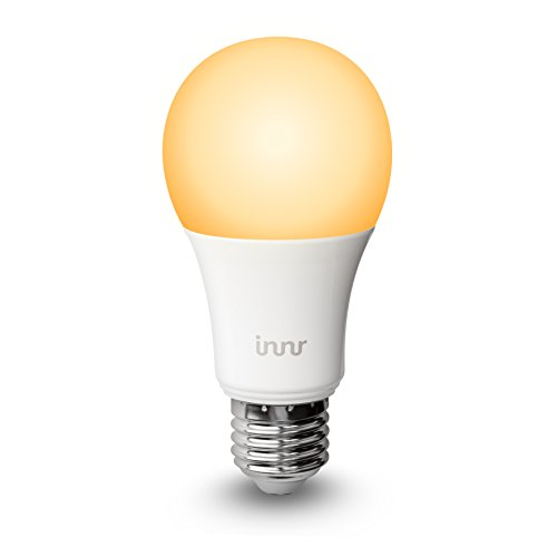Innr E27 Smart LED Lampe, 2200K - 5000K, works with Philips Hue*, Alexa & Lightify, abstimmbares weißes Licht, RB 178T
