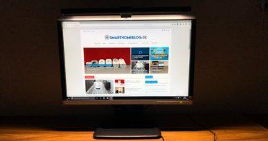 BenQ ScreenBar E-Reading-Lampe ausprobiert